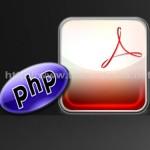 crear pdf con PHP