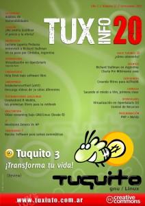 Revista tuxinfo, numero 20