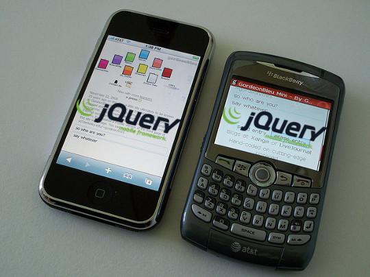 Crear sitios web con Jquery Mobile Framework