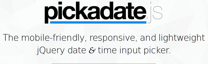 pickadate