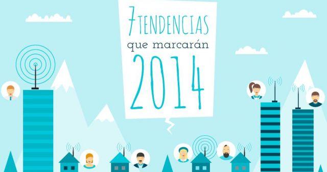Infografía – Siete Tendencias Tecnológicas que Marcarán el 2014