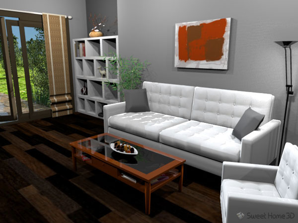sweet home 3d software libre en dise o de interiores. Black Bedroom Furniture Sets. Home Design Ideas