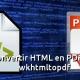 Cómo convertir páginas HTML en archivos PDF con Wkhtmltopdf