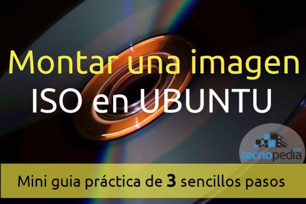 Cómo montar una imagen ISO en Ubuntu